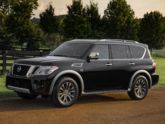 The 2018 Nissan Armada, a vehicle that has a significant discount going into Memorial Day weekend. This large three-row SUV offers ample power, room and utility.