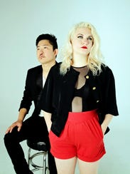 Electro-pop duo Tart will perform as part of Mittenfest