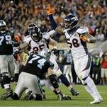 Denver Broncos' Peyton Manning waves after the NFL Super Bowl 50 football game against the Carolina Panthers Sunday, Feb. 7, 2016, in Santa Clara, Calif. The Broncos won 24-10. (AP Photo/Jeff Chiu)