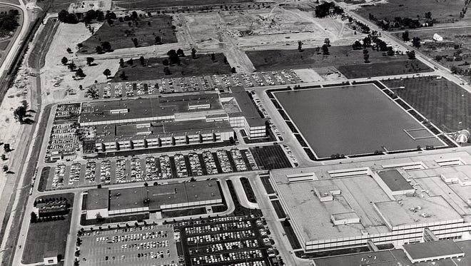 The General Motors Tech Center in Warren shown in 1970.