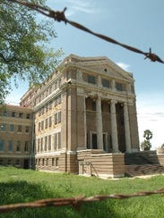 The former Nueces County Courthouse was constructed