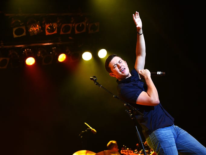 "Scotty McCreery performs at the 6th Annual ""Darius"