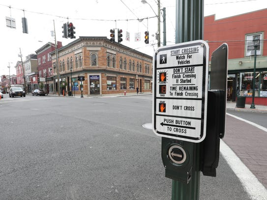 New sidewalks, street lights and crosswalks and road