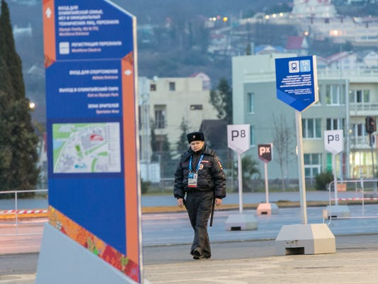 Sochi chief: city is world's 'most secure venue'