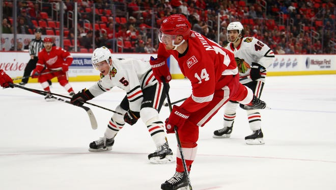 Red Wings forward Gustav Nyquist says the Wings believe they can dig themselves out of a hole and reach the playoffs.