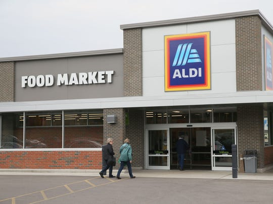 The Menomonee Falls Aldi will open Aug. 22 with a ribbon-cutting at 8:25 a.m. followed by a Golden Ticket giveaway in which gift cards are offered to the first 100 customers. Also available that day: samples of Aldi-exclusive brand foods and a sweepstakes for customers to enter for a chance to win a year's supply of Aldi produce.