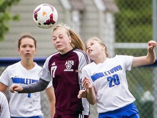 Middletown vs Appoquinimink Girls Soccer