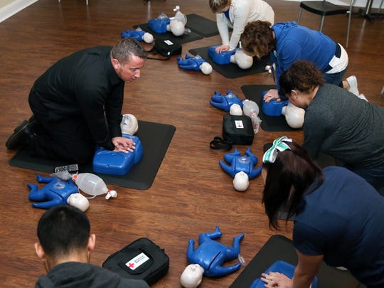 Learn CPR this weekend in a training event held by Compressions for Life.