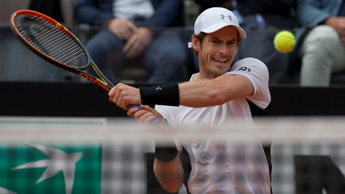 More comfortable on clay, Andy Murray reaches Italian Open semifinals