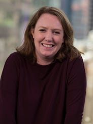 Author Paula Hawkins in New York on May 9.