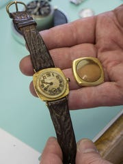 Wael Mokhles is restoring a customer's 120-year-old Patek Philippe watch.