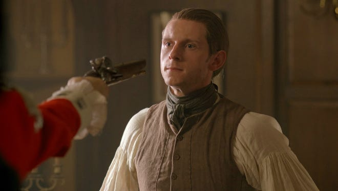 "Jamie Bell plays spy Abraham Woodhull in AMC's ""Turn."""