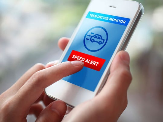 Get speed monitor alerts using the Life360 app.