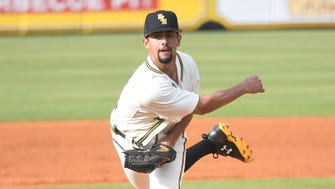Southern Miss pitcher Nick Sandlin is 8-0 with a 1.25 earned run average in 2018.