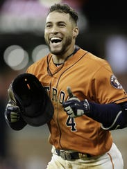George Springer is one of the longer-term Astros, having