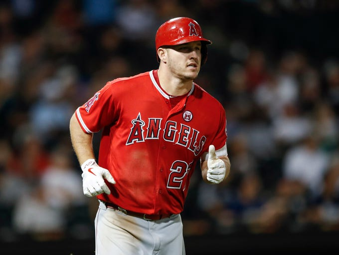 1. OF Mike Trout, Angels