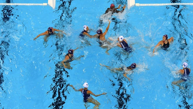 The U.S. women's water polo team is looking for back-to-back gold medals Friday.