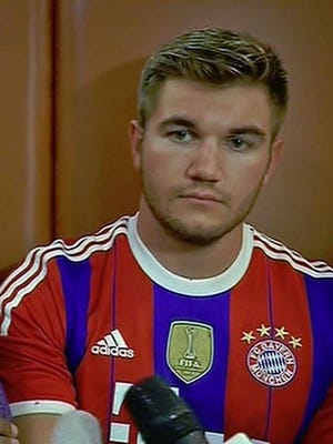 Alek Skarlatos, a National Guardsman from Roseburg, was one of three Americans to rush and subdue an armed gunman on a Paris-bound train.