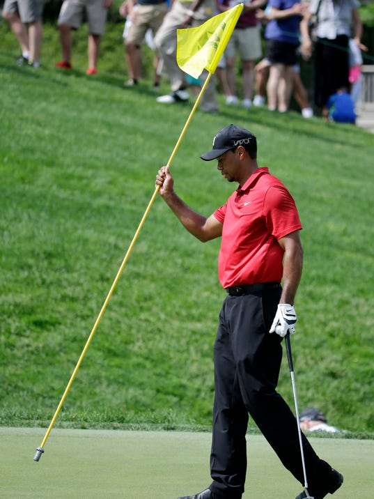 tiger woods humbled  but not in panic  over his 85