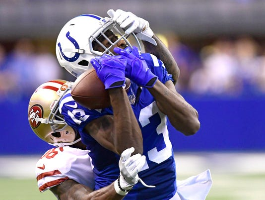 NFL: San Francisco 49ers at Indianapolis Colts