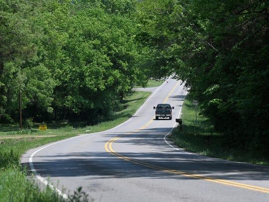Coleman Road in Franklin