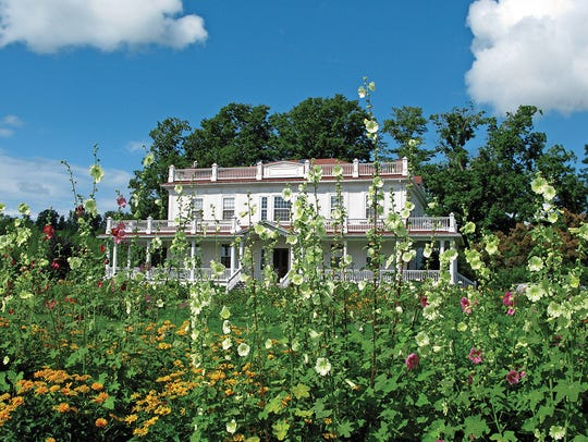 The Beekman mansion was built between 1802 and 1804