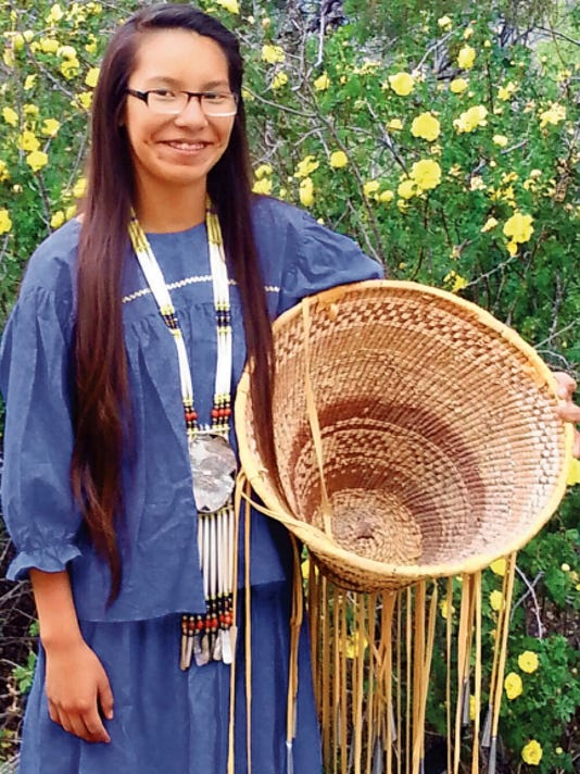 Mescalero maiden Kayla Comanche-Morgan will celebrate her coming of age ceremony May 14-18.