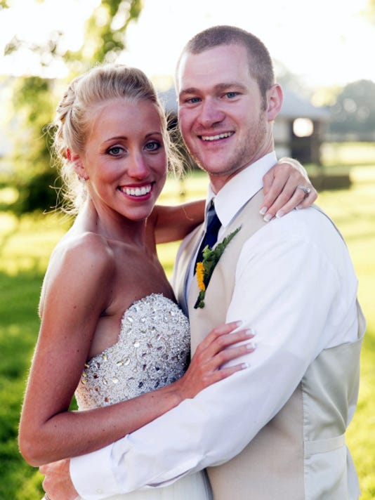 Adam Wenger and Kirsten Martzall got married in Myerstown.