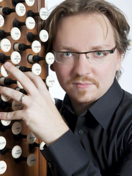 Organist Felix Hell will perform April 26 on the refurbished M.P. Moller organ in St. John's United Church of Christ, Chambersburg.