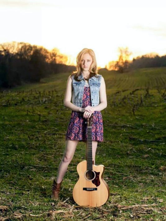 Country/pop artist Kayla Kroh is also involved in theater at Central York High School as well as The York County Senior Honors Choir. Submitted