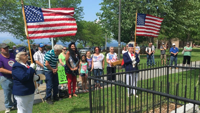 Memorial Day commemorated in Battery Park.