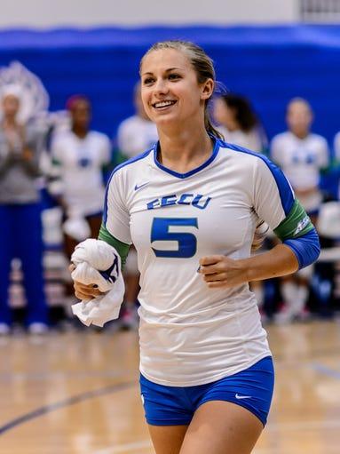 FGCU setter Gigi Meyer in 2013.