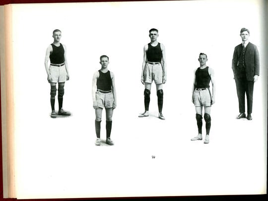 Lafayette Jeff's yearbook, the Nautilus, devoted 12 pages to the state championship in its 1916 edition.