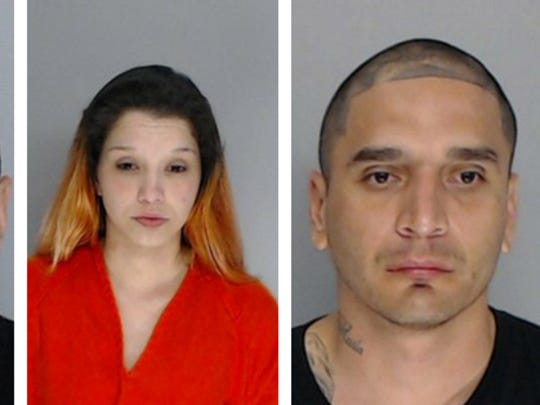 Ismael Castillo, Ariana Carbajal and Ricardo Acuna are suspects in the fatal shooting of Deandre Mathis, 19.