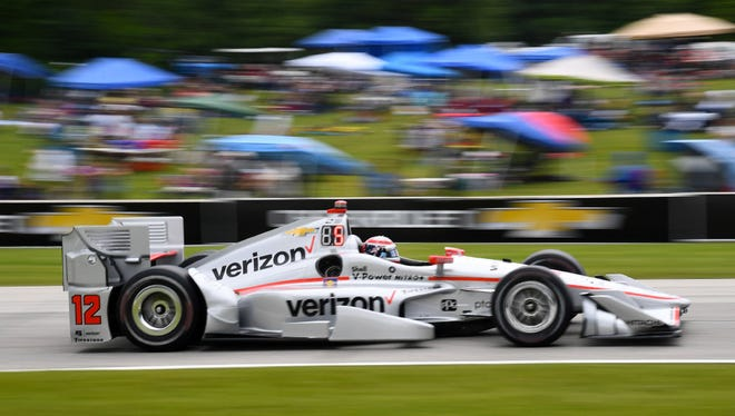 Defending race champion Will Power endures a frustrating day as he can muster only a fifth-place finish at the Kohler Grand Prix at Road America on Sunday.
