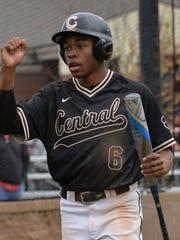 Central Magnet senior Jordan Jackson hit .362 with 18 doubles, seven triples, five home runs and 54 runs scored.