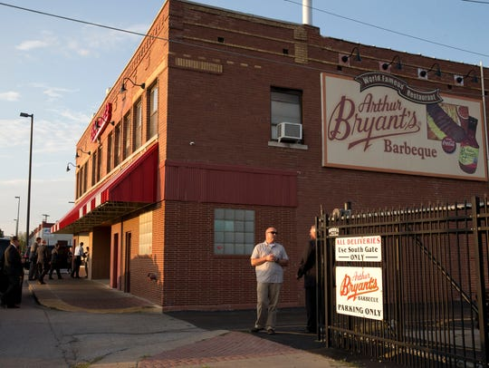 FILE - This July 29, 2014 photo shows Arthur Bryant's,