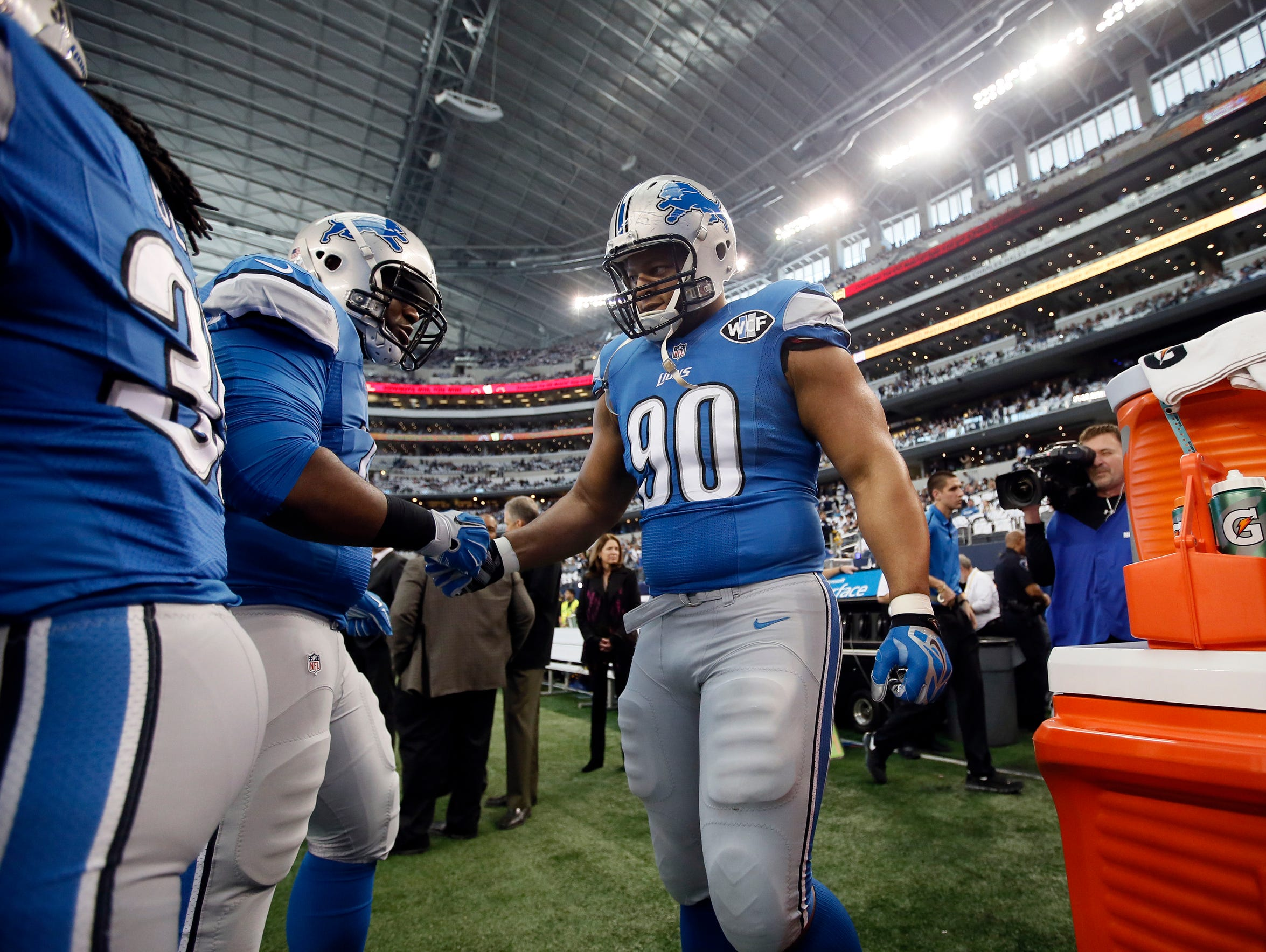 Ndamukong Suh spent five years in Detroit, posting