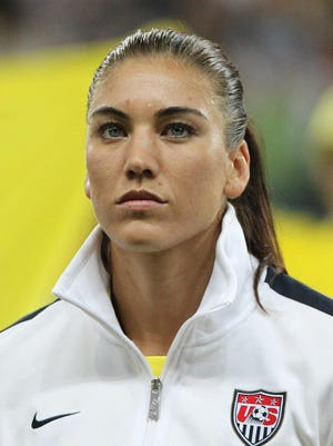 The goalkeeper for Seattle and U.S. Women's team is facing domestic violence charges.