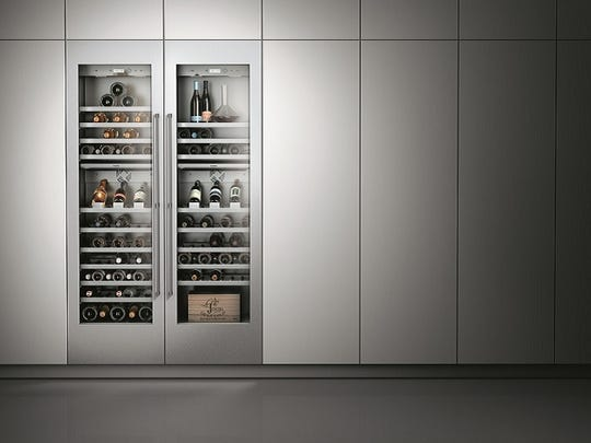 Gaggenau's wine preservation system allows for preserving