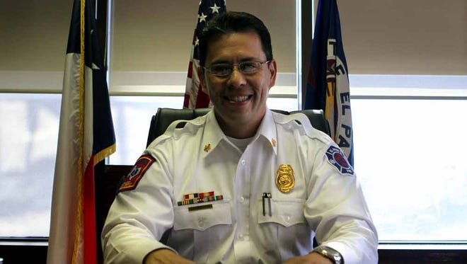 El Paso Fire Chief Sam Pe–a was named the new chief on March 7, 2013.