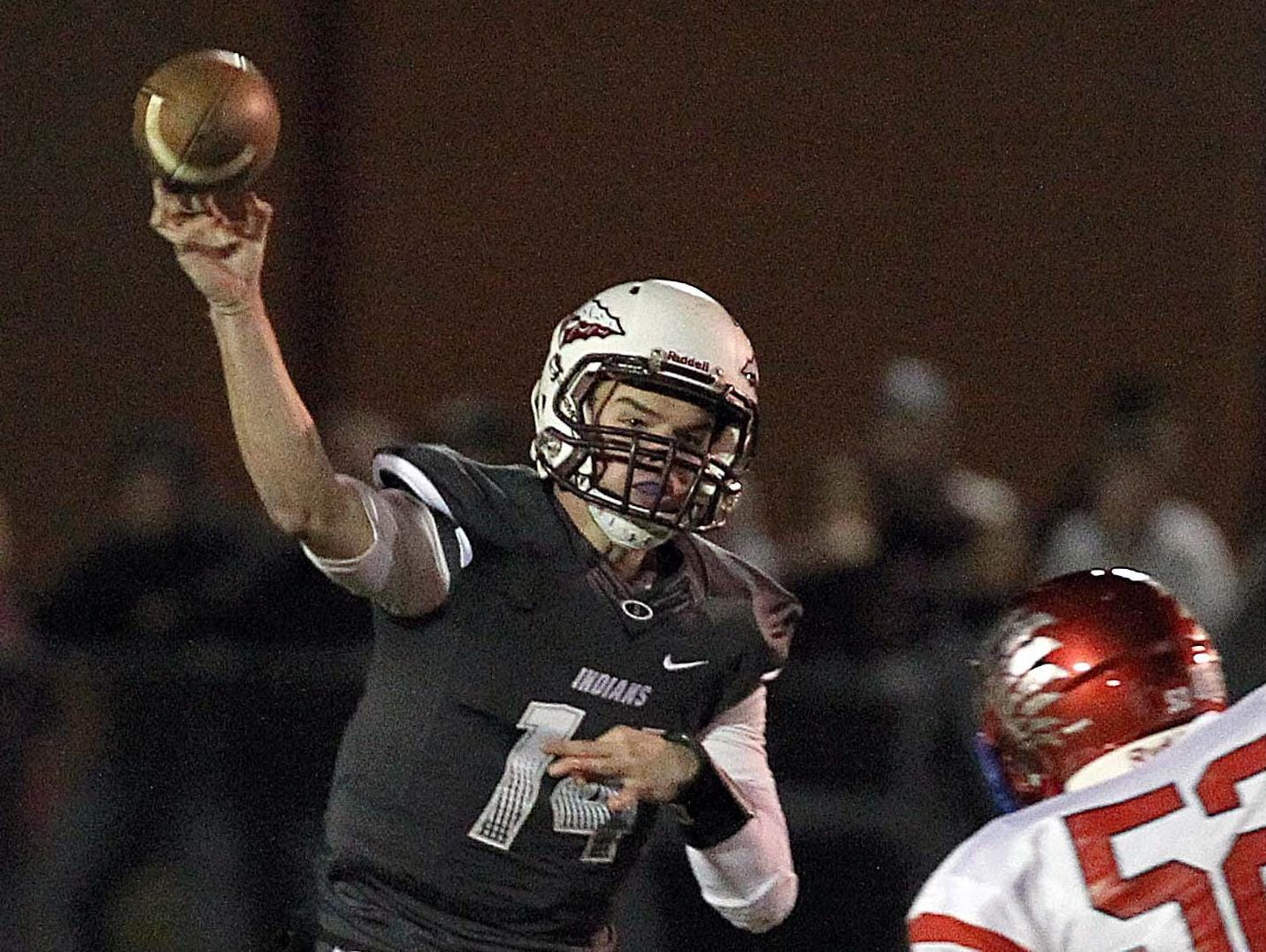 Strafford quarterback Chanler Collins is 23-of-40 passing for 254 yards and a touchdown in two games this season.