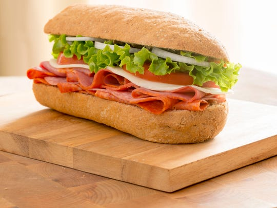 A sub from Goodcents Deli Fresh Subs in Phoenix.