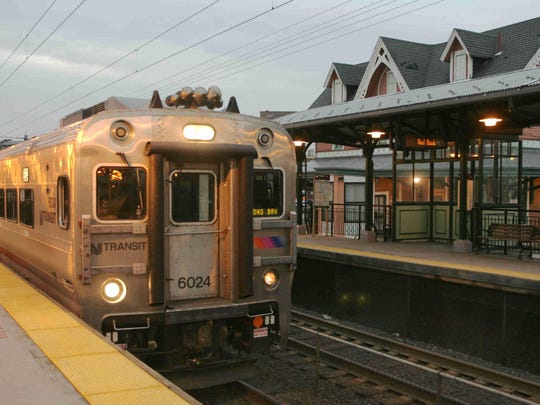 A NJ Transit North Jersey Coast Line train pulls into the Red Bank station in this Asbury Park Press file photo.