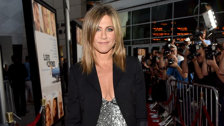"""Jennifer Aniston attends the premiere of her film """"Life of Crime"""" at ArcLight Cinemas  in Hollywood."""