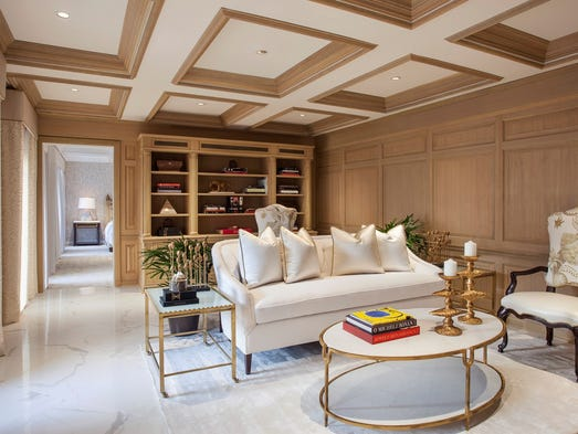 The St. Regis Washington D.C. hotel is located just