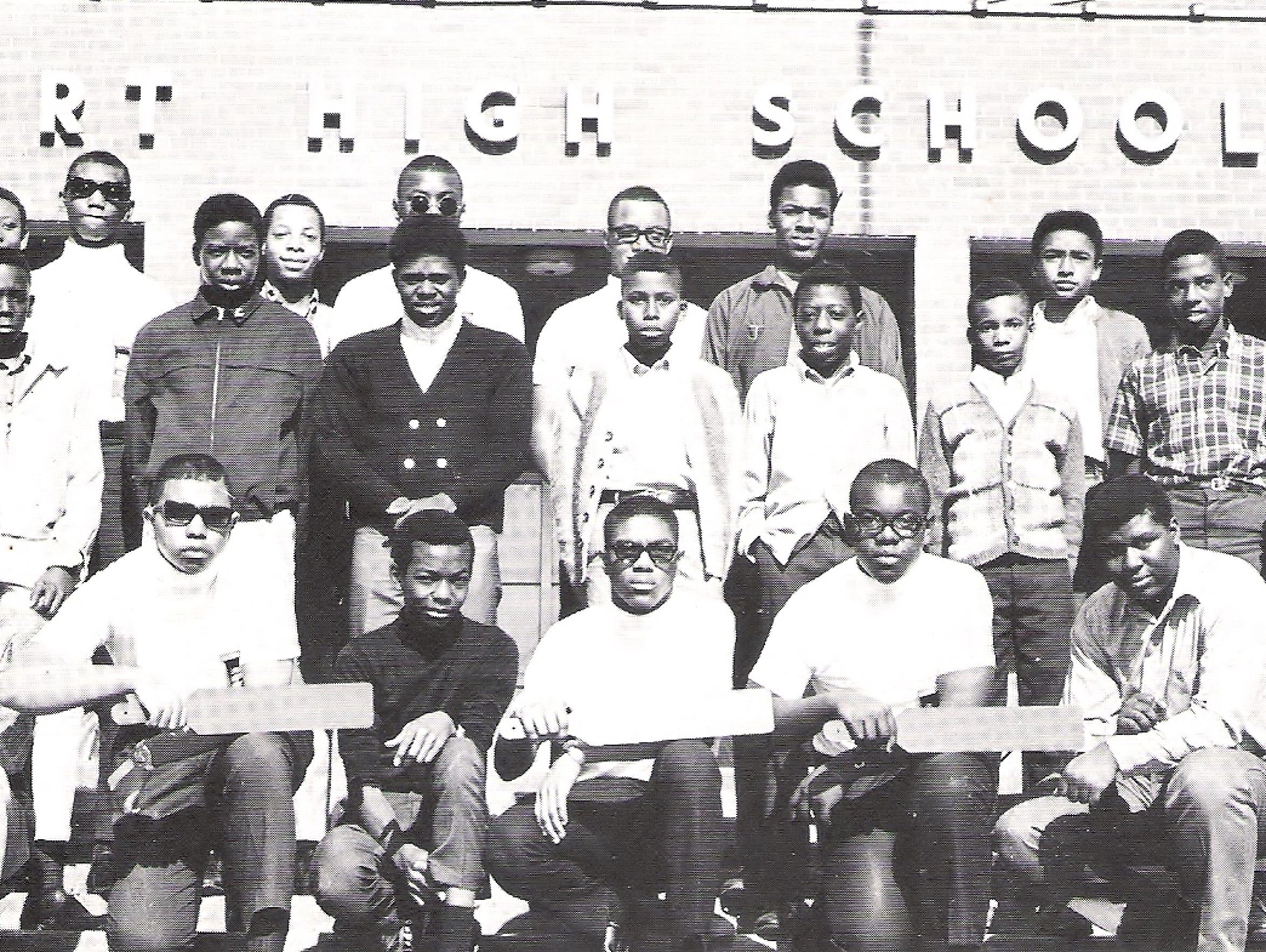 A Burt High School fraternity.