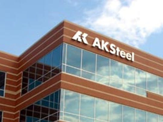 AK Steel headquarters in West Chester Township