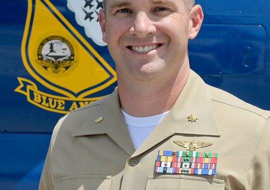 Marine Maj. Mark Montgomery, 36, of Cartersville, Georgia,