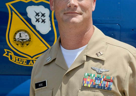 Navy Lt. Samuel Rose, 35, of Whitehouse, Texas, is